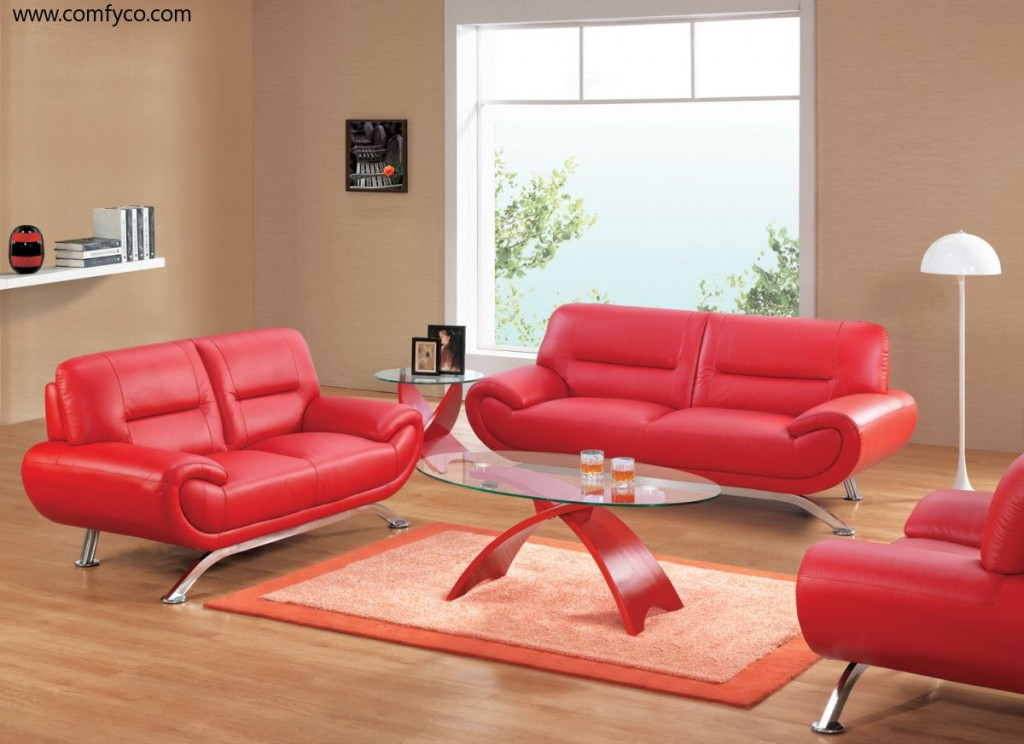 smart red living room sets with sectional red sofas plus black