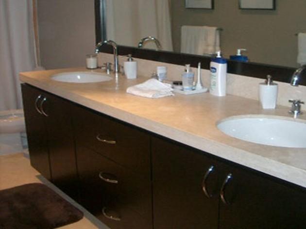Vanity Countertop Materials : Vanities Lowes with Elegant Wooden Material: Appealing Bathroom Vanity ...