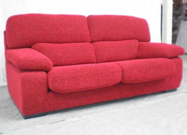 Furniture: Astonishing Red Sofas Baratos Modern Artistic Design ...
