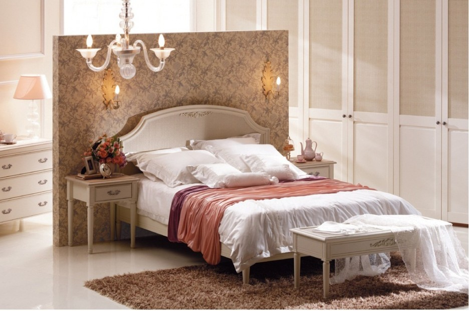 elegant bedroom with cool wall colors for small rooms combination and