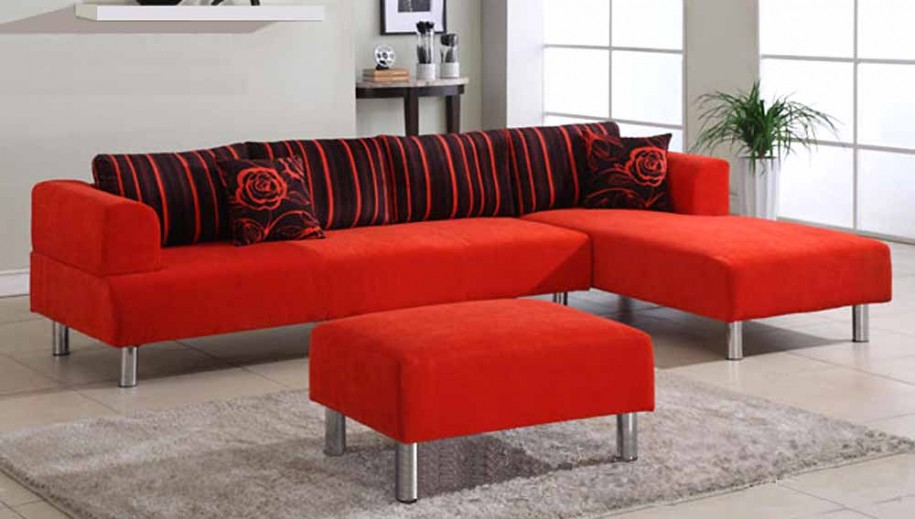 403 Forbidden: red and grey sofa