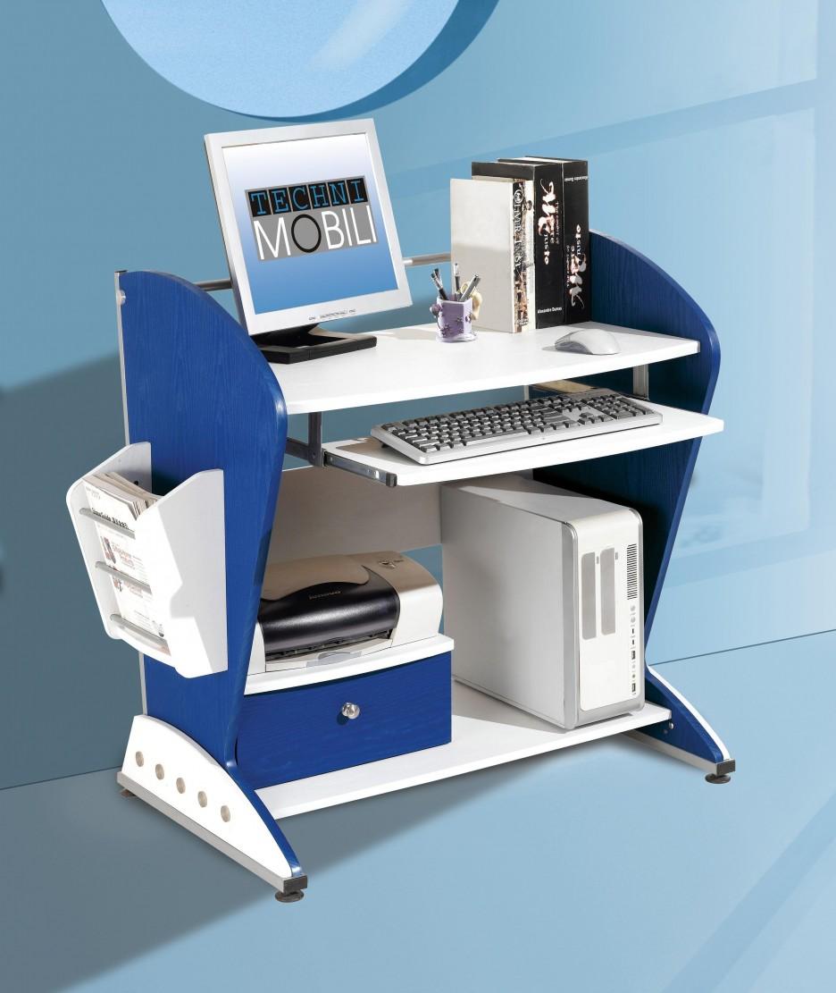 desks for kids blue color scheme applied in desk for kids with white