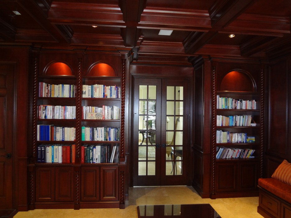 403 forbidden for Custom home library design