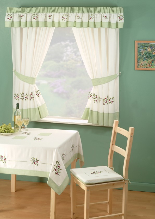 Furniture: Delicate Curtain Designs For Windows In Various Styles ...