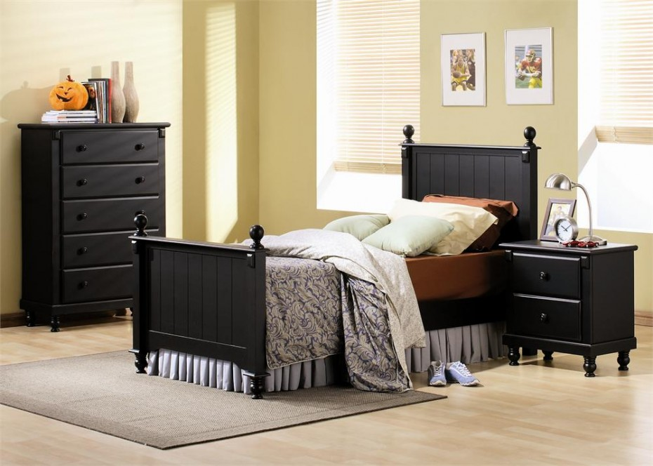 403 forbidden Bedroom design ideas with black furniture