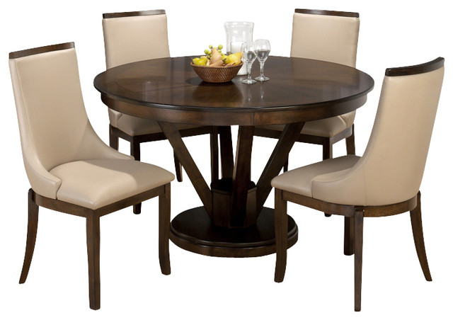 Interior design ideas architecture blog modern design for Cheap round wooden dining tables