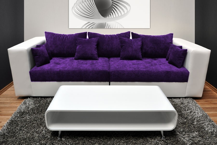 Beautiful Grey And Purple Living Room Furniture By Forbidden With Purple  And Black Room