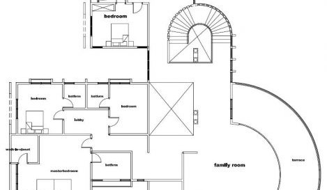 House Plans with Pools and Outdoor Kitchens for Rear Home Idea: Gorgeous Modern Style House Plans With Pools Floor Design Ideas Equipped With Modern Floor Plan Design Idea Unit Detail