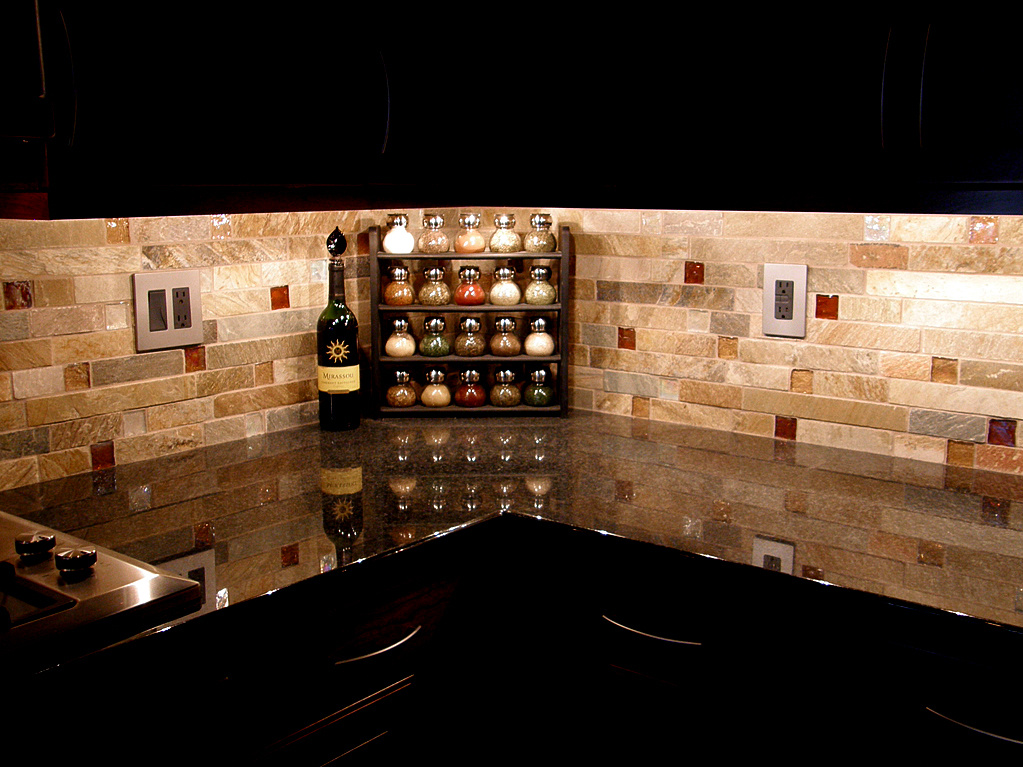 Kitchen: Gorgeous Modern Style Kitchen Backsplash Designs With ...