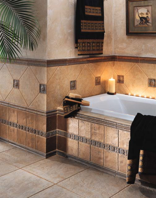Bathroom: Tile Designs For Bathrooms In Fresh Sensation ~ CLAFFISICA