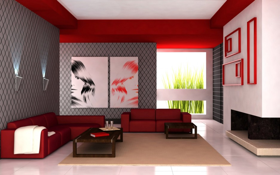 403 Forbidden : Grey color Combined with Red Sofas in Spacious Living Space with Cream Rug Design with White Wall Painting with Wooden Table Design Ideas 936x585 from www.claffisica.org size 936 x 585 jpeg 116kB