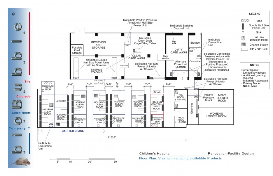 First Floor Plan Of New Hospital Is Centered Around