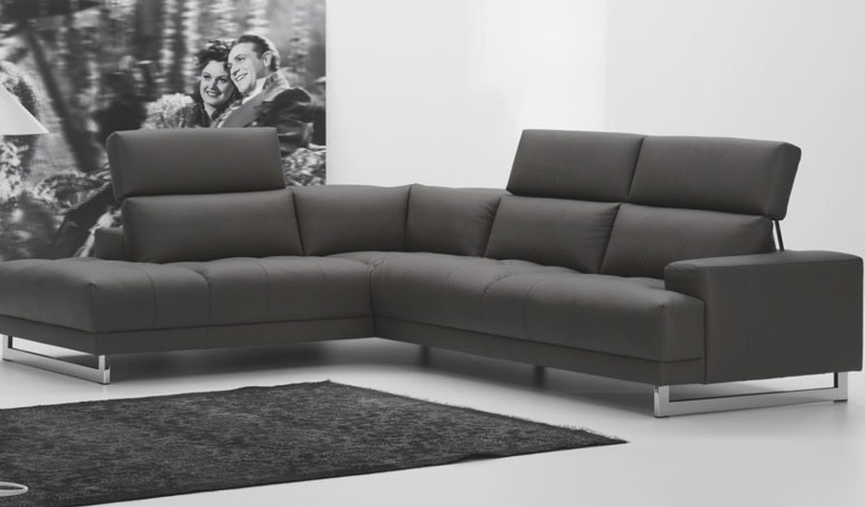 With Leather Material For Modern Living Room Interior Design