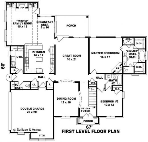 Kitchen marvelous house plans with pools first level for Living room floor plans