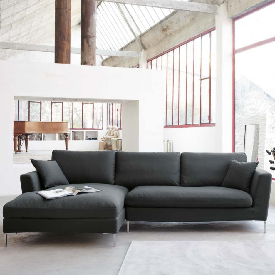 403 forbidden - Black sofas living room design ...