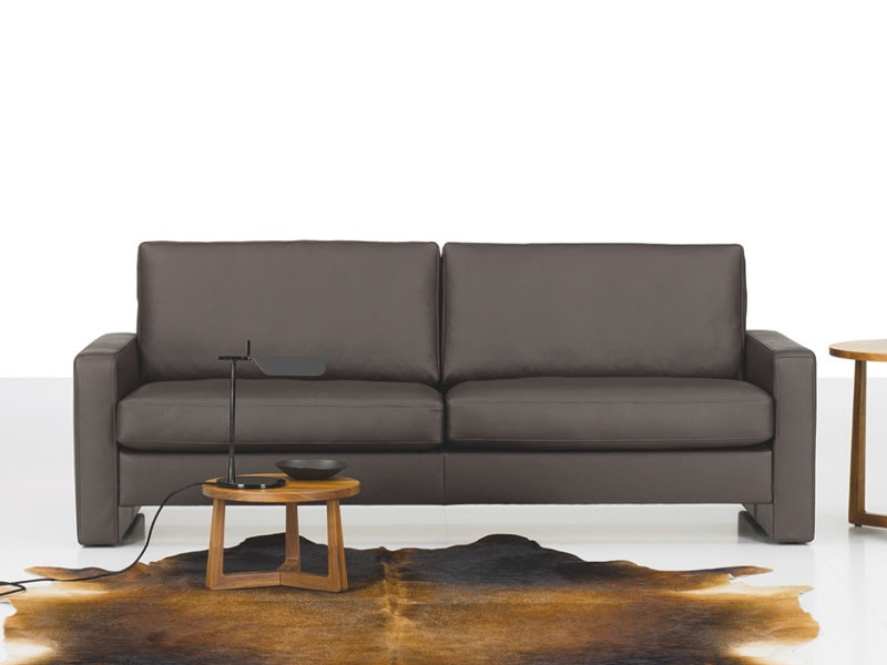 Interesting And Comfortable Dark Grey Stylish Sofa Bill