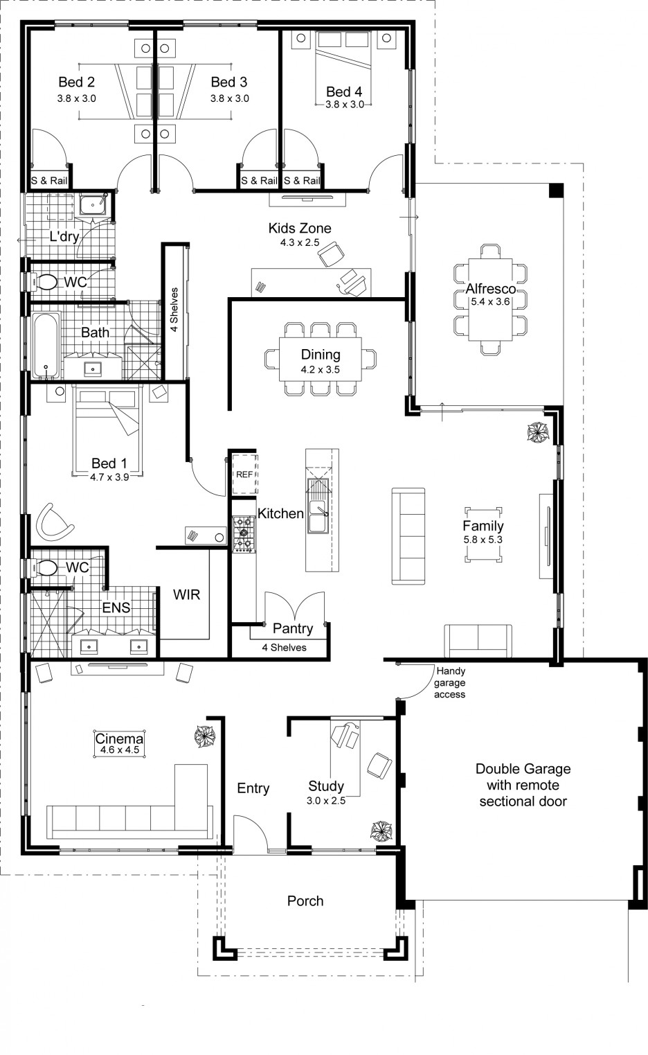 Architectural Floor Plans For Houses Viewing Gallery