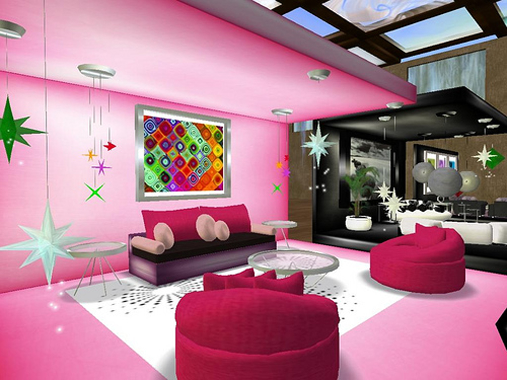 Cool colors for bedrooms for teens viewing gallery - Pink and black teenage room ...