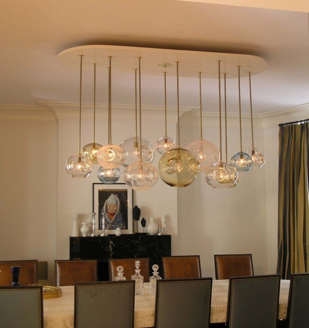Unique Dining Room Light Fixtures: Interior Design Ideas, Architecture Blog & Modern Design