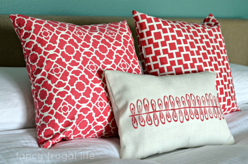 Red Throw Pillows For Bed : 403 Forbidden