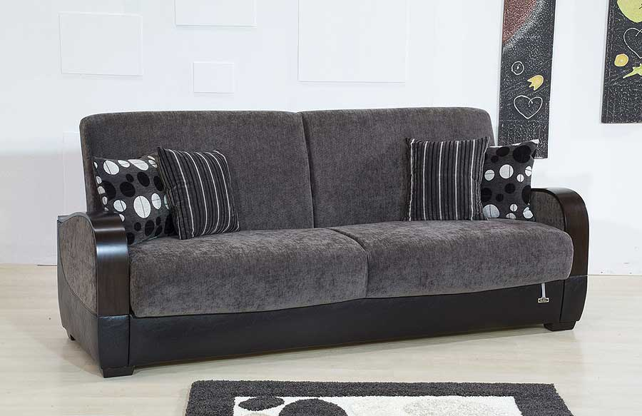 Interior design ideas architecture blog modern design for Black and grey sofa set