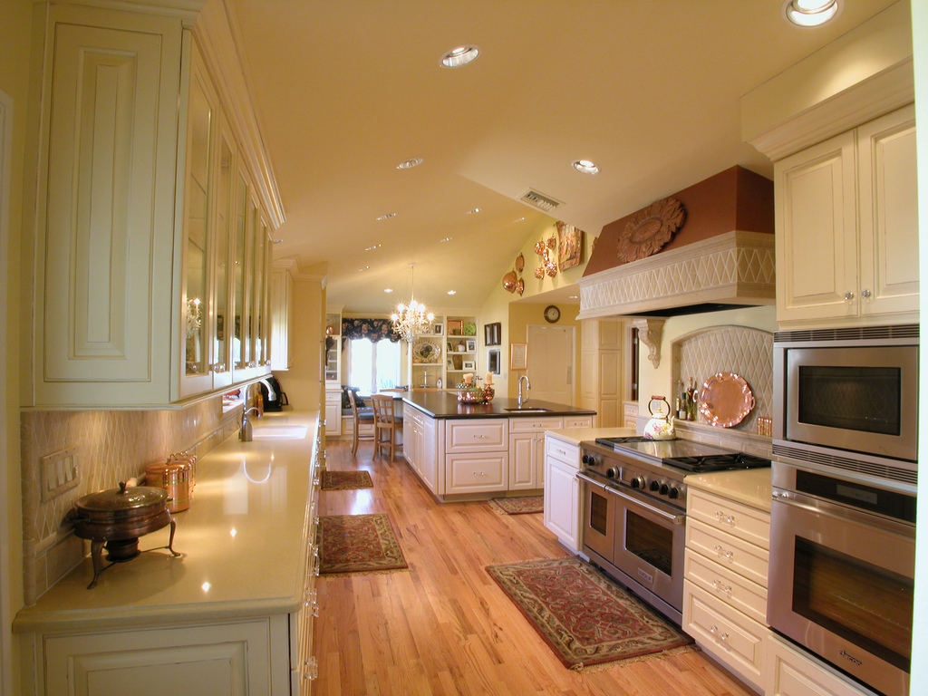 Kitchen cabinet ideas bill house plans for Kitchen remodel styles
