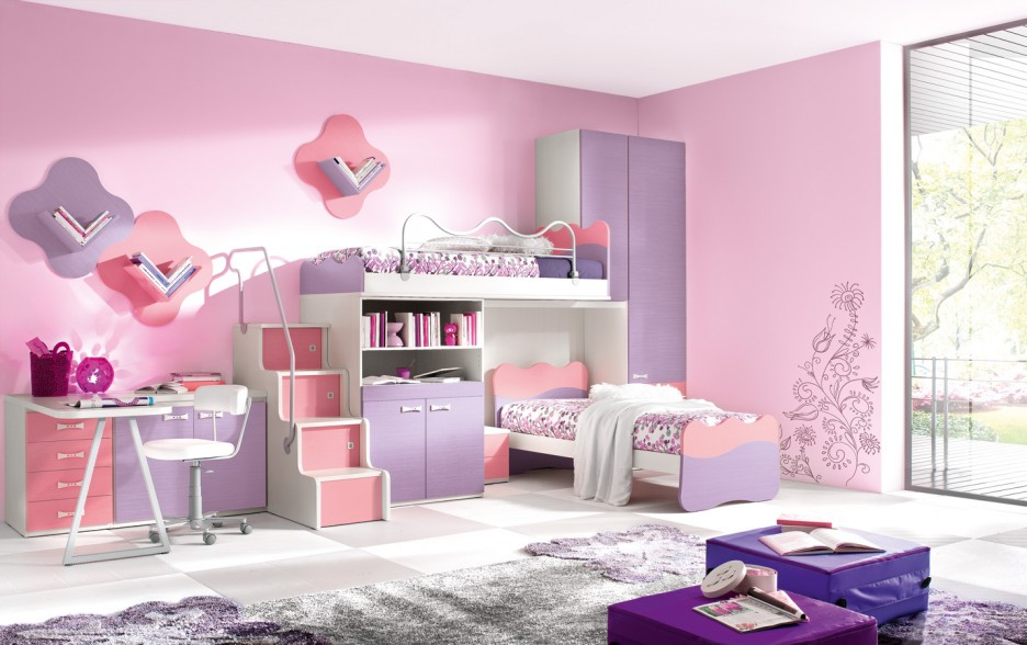 403 forbidden - Pink and white teenage room ...