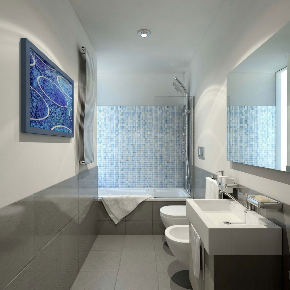 Bathroom: Modern Bathroom Design For Minimalist Home Tiny Bathroom ...