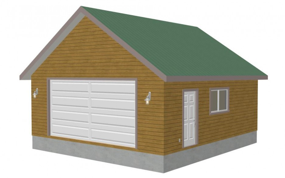 Enchanting detached garage plans in modern styles amazing for Wooden garage plans