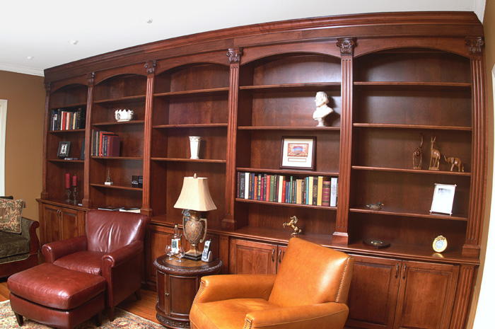 Interior design ideas architecture blog modern design for Custom home library design