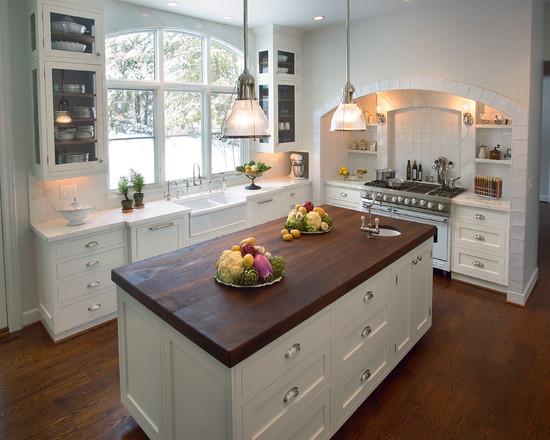 Interior design ideas architecture blog modern design for Glass upper kitchen cabinets