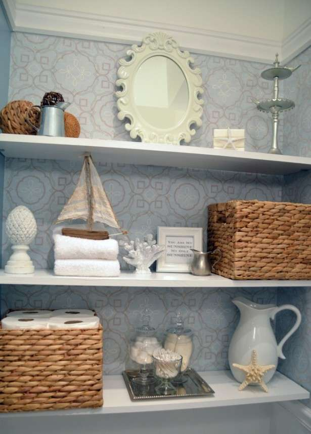 Home » Bathroom » Fascinating Instant Bathroom Shelves For The ...