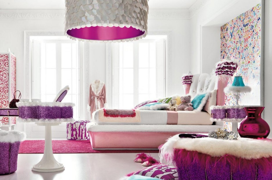 Bedroom: Awesome Teenage Bedroom Ideas With Modern And Bright ...