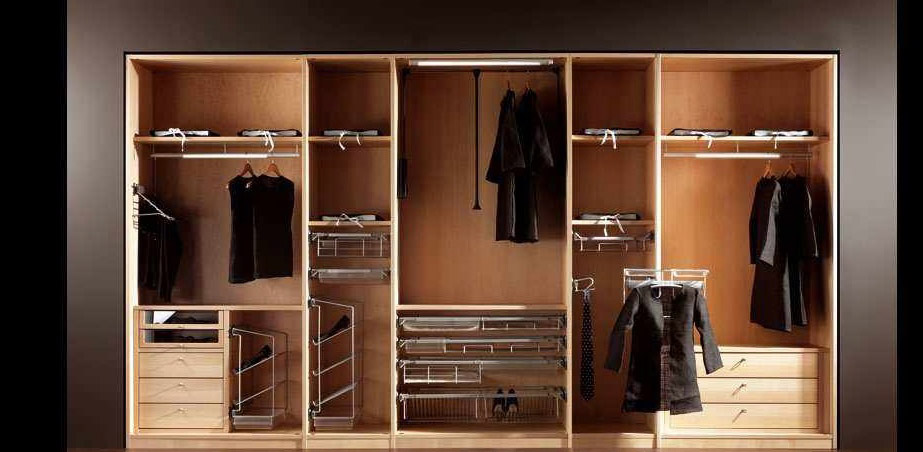 Modern wooden wardrobe designs for bedroom home design for Design of master bedroom cabinet