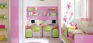 Amazing House Beautiful Paint Colors with Classic Interior: Beautiful Pink Bedroom Of House Beautiful Paint Colors Combined With Green And White Accents In Minimalist Interior Decoration