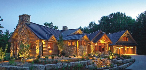 Interior design ideas architecture blog modern design for Custom luxury log homes