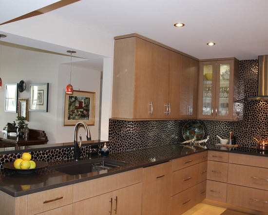 Kitchen Design Black Granite Countertops Dark Granite