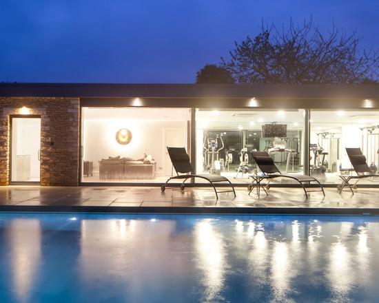 Interior design ideas architecture blog modern design for Manor house landscape lighting