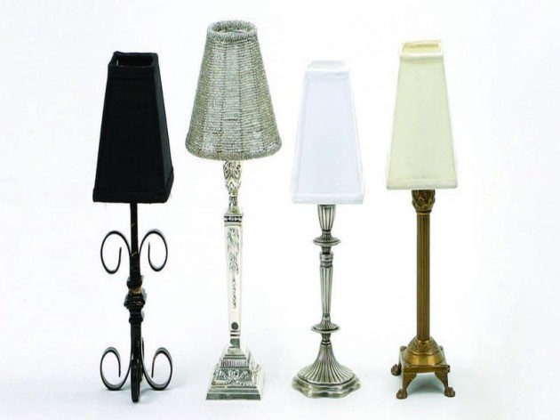 table lamps with modern lampshade contemporary battery operated table. Black Bedroom Furniture Sets. Home Design Ideas