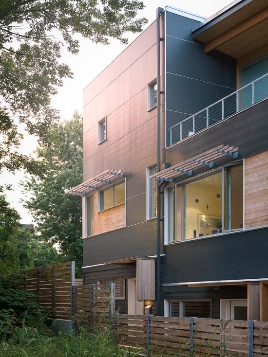 Interior design ideas architecture blog modern design for Townhouse architectural styles