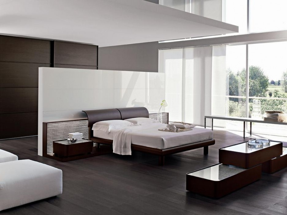 Furniture: Contemporary Italian Bedroom Furniture White Sofa Large ...