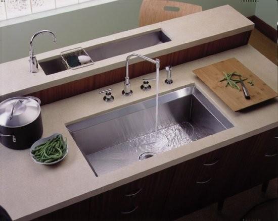Contemporary Kohler Stainless Steel Sinks