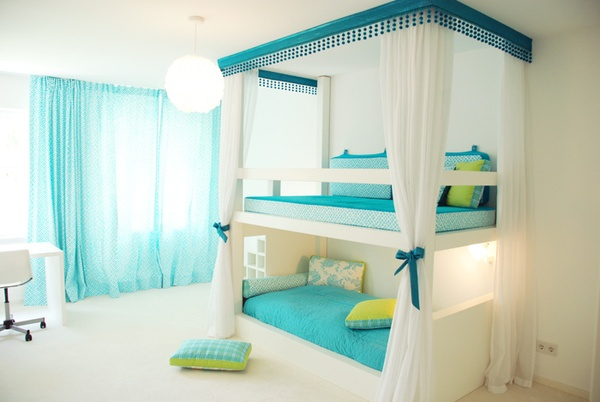 Interior design ideas architecture blog modern design pictures claffisica - Blue beds for girls ...