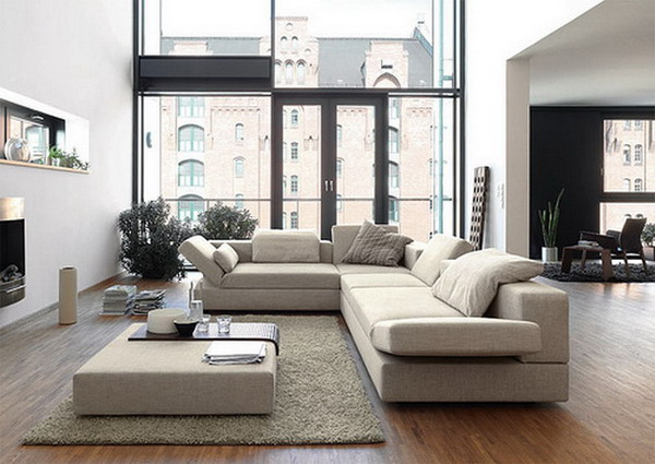 Living Room: Cool Contemporary Living Room Furniture Interior ...