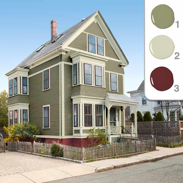 Interior design ideas architecture blog modern design for Exterior wall paint colors house