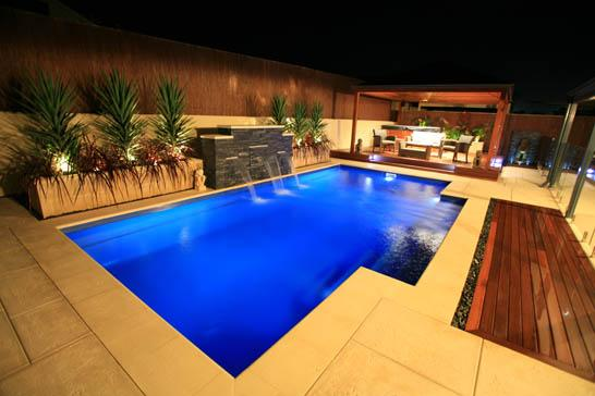 Pool: Creative Swimming Pool Designs With Best Lighting Ideas In ...