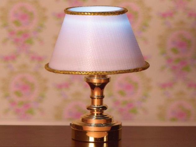 battery operated table lamps with modern lampshade elegance battery. Black Bedroom Furniture Sets. Home Design Ideas