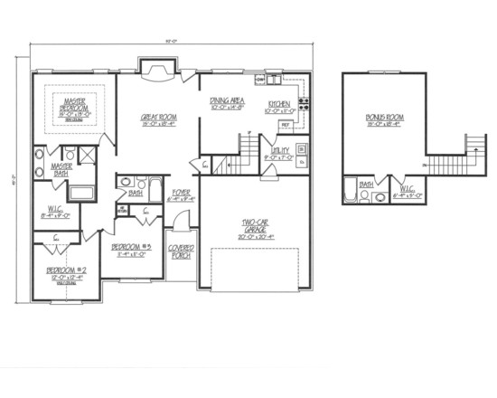 403 forbidden for Garage floor plans with bonus room