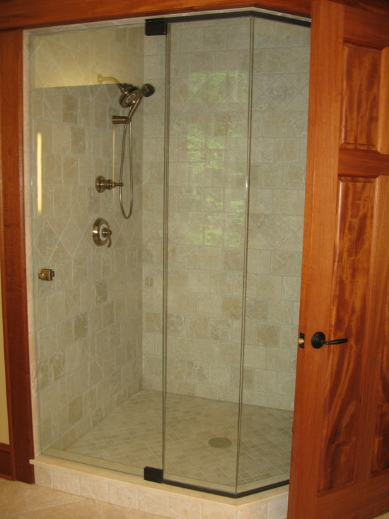 Architecture: Exquisite Bathroom Design With Covered Shower Glass ...
