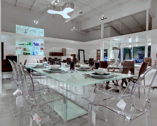 Interior design ideas architecture blog modern design for Lucite kitchen table